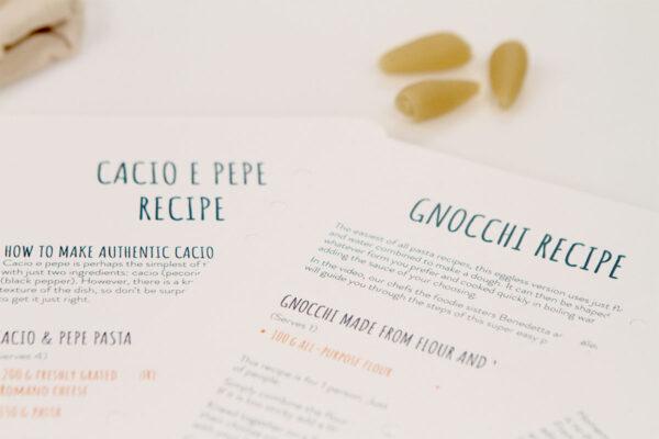Italian gnocchis