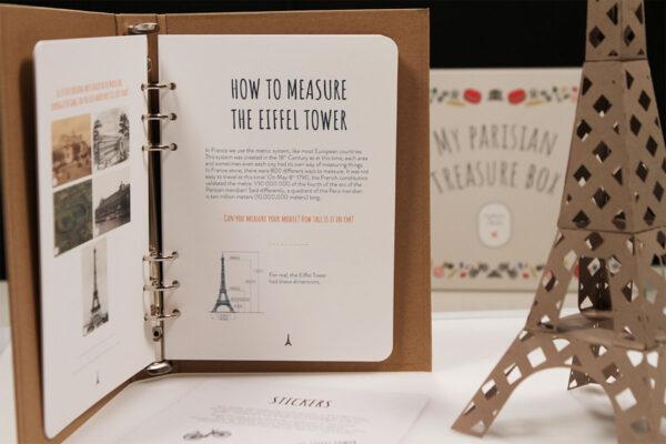 Parisian Eiffel tower