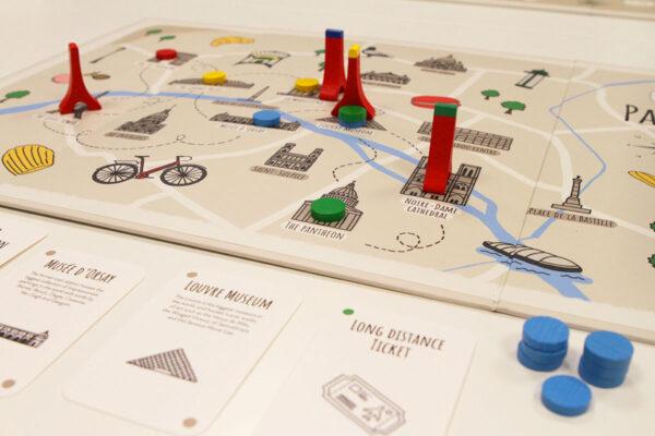 Box Paris Gameboard